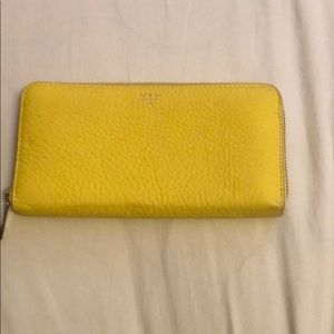 Yellow Fossil Wallet